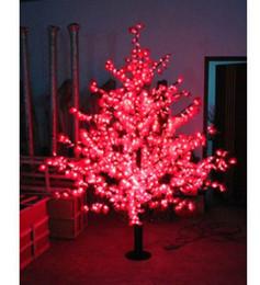 2019 albero di acero di natale L'albero di acero delle luci dell'albero della luce dell'acero di 40W 1.5M LED ha condotto la luce della decorazione del giardino 636led la luce libera il trasporto sconti albero di acero di natale