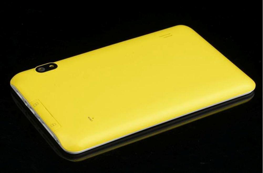 GÜNSTIGES buntes 7 Zoll 86V A23 2G G- / Mtelefon Sim, das Tablette PC Android 4.2 4GB 512M RAM-Doppelkamera-kapazitiver Schirm Wifi PB07-13 nennt