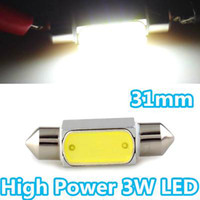 Wholesale Wholesale House Interiors - 4pcs High Power 3W 31mm C3W C5W C10W SV8.5 Auto Car LED Licence Plate Light Aluminum housing Interior Dome Roof Reading Lights