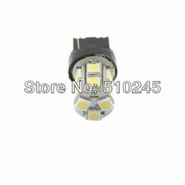Wholesale 13 smd led light - 10X car led T20 7440 W21W 13 led smd 5050 13smd led turn light bulb lamp WHITE RED YELLOW Free shipping