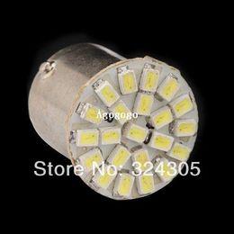 Wholesale 1157 Super - 10 X 22 SMD 22 3020 led 1157 BAY15D P21 4W P21 5W 7528 1206 auto Car turn signal lamp Brake tail parking Light super bright