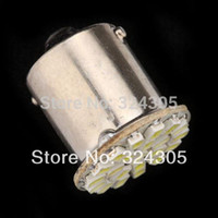 Wholesale Car Steering Signal - 10X22 SMD 22 3020 led 1156 R10W P21W R5W 1206 auto Car backup reverse Turn signal Tail steering direction indicator Light