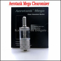 Wholesale Ego T Mega - Aerotank Mega Aero Tank Clearomizer 3.8ML Pyrex Glassomizer Atomizer Airflow Control Cartomizer for E Cigarette ego t vv c Twist Battery