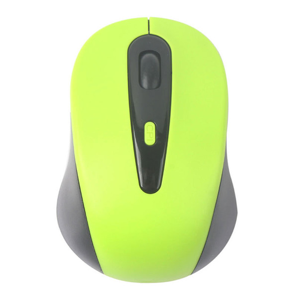 top popular Wholesale-2.4G Wireless Optical Mouse Mice + USB 2.0 Adapter Receiver for PC Laptop Green Pink Yellow Blue #51936 2019