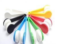 ingrosso pennello facile pulito-Nuovo arrivo Mini occhiali da sole Occhiali Microfiber Brush Cleaner Home Office Easy