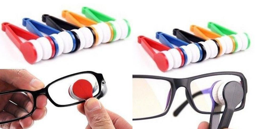 새로운 미니 선글래스 안경 마이크로 화이버 브러쉬 클리너 홈 오피스