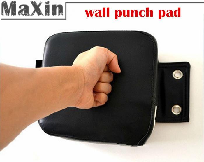 PU Wall Punch Boxing Bag Focus Target Pad Wing Chun Taekwondo Sandbag  #K