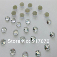 Wholesale Strass Crystal Dresses - Promotion! 1440pcs pack SS10 2.7-2.8mm lead free korean crystal clear rhinstones, hot fix strass for DIY Wedding Dress Appliques