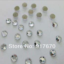 Wholesale Promotion Wedding Dresses - Promotion! 1440pcs pack SS10 2.7-2.8mm lead free korean crystal clear rhinstones, hot fix strass for DIY Wedding Dress Appliques