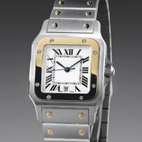 relógio de quartzo estilo venda por atacado-Nova moda de alta qualidade Aço Data Mens Mulheres Japão Estilo Quartz relógios CA03
