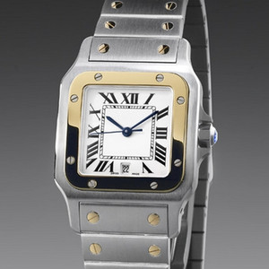 New fashion high quality Steel Date Mens Women Japan Quartz Style watches CA03