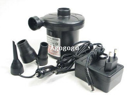 Wholesale Toys Pumps - Two Way Electric Air Pump for Beds, Mattresses, Toys