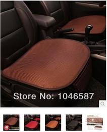Wholesale Cooling Car Summer Seat Cushion - Wholesale-car seat summer viscose upholstery single four seasons general single cushion Summer cool and refreshing car seat cushion
