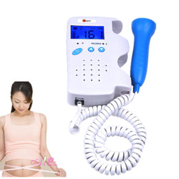 Wholesale Baby Doppler - RFD-D Ultrasonic Fetal Doppler 3MHz baby with LCD Display Prenatal Heart Monitor