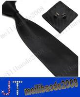 seide weihnachten großhandel-Krawatten-Manschettenknöpfe-Taschentuch der freien Verschiffen Männer stellten neues Weihnachtsgeschenk MYY2688A 100% SEIDE ein