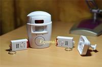 kızılötesi sensör alarm sistemi toptan satış-Yeni Varış Ev Alarm Sistemi 105dB Kablosuz IR Kızılötesi Hareket Sensörü Dedektörü Alarm Uzaktan Anahtarlıklar S169