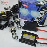 Wholesale Kit Bixenon H4 35w - 1set a4 12000V H4-3 xenon H4 Bixenon kit with wire harness hid hi lo 35W 6000K 8000K 4300K 5000K 10000K 12000K BI-XENON H4 Bi xenon kit