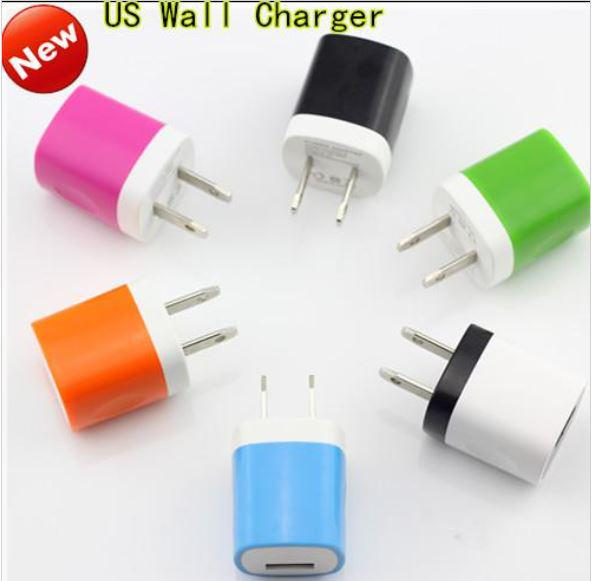 5V 1A Universal Mini USB Plug Wall Charger For iPhone6 5S 4S for Samsung S4 S5 Note3