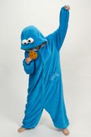 panda takım tulumları toptan satış-Karikatür uzun kollu Rahat Pijama iç çamaşırı tulumlar cosplay kostüm pijama / ayı / bunny / Corgi / panda / kedi / kurt / pikachu / batman