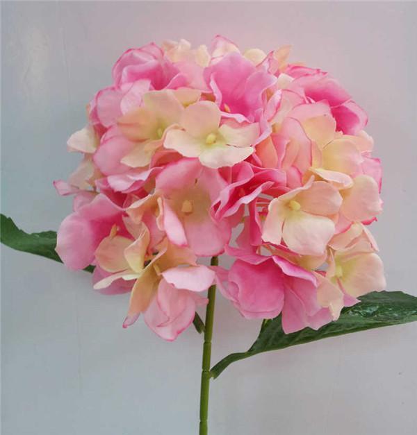Yapay Ortanca Çiçek 80 cm / 31.5