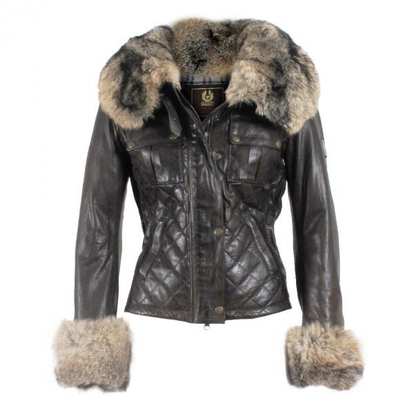 2017 High Fashion Designer Brands 2015 Fur&Genuine Leather Jacket ...