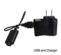 Wholesale Ego K Wall Charger - eGo Wall plug OR USB Charger for Electronic Cigarette fit for Ego t ego vv ego k evod battery Adapter US UK EU AU version DHL Free