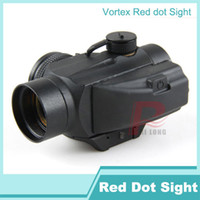Wholesale Sighting Scope - New Tactical Vortex Red Dot SPARC Sight With Mount Hunting Red Dot Sight Scope 1x25mm 2x25mm HT5-0005