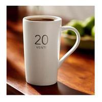 Wholesale Starbucks Bone China Cups - Wholesale-Free shipping 20OZ 600ML white brief starbucks mug ceramic coffee mug cups. office big drinking cups