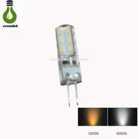 Wholesale new arival - New Arival G4 LED Bulb Lamp 3W LED Light Bulb High Quality DC12V LED Indoor Lighting G4-3014-24L
