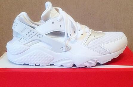 reputable site 77844 1cf67 ALL White Huarache Start! Pure White Sneakers Breathable Running Shoe  Huaraches Women Men trainer