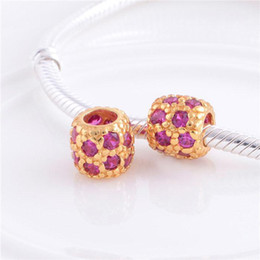 ... Pandora Gold and Silver Charms Beads 925 Sterling Silver FS102