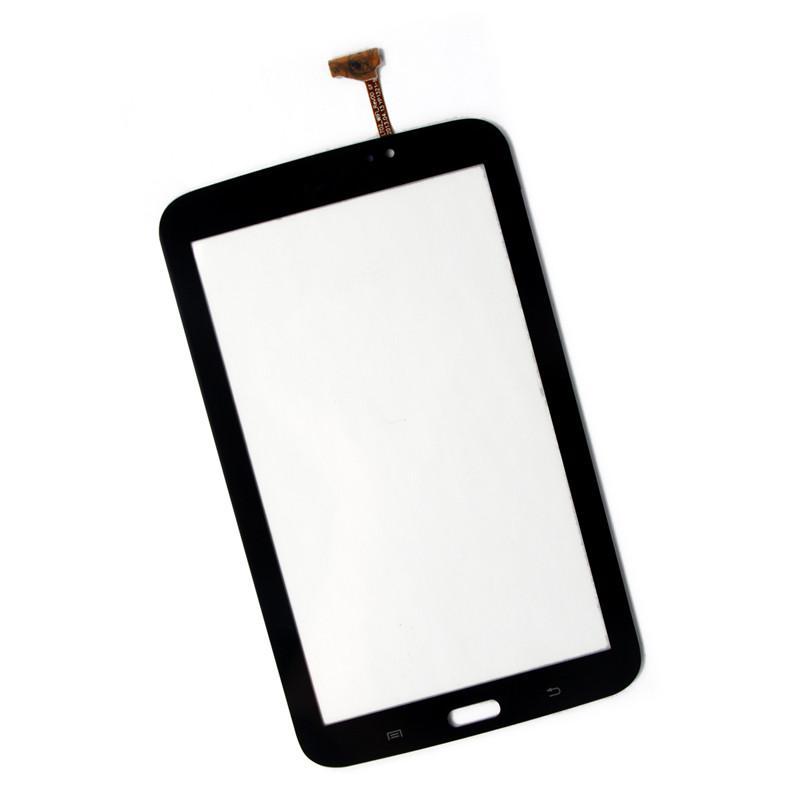 1 SZTUK Ekran Dotykowy Digitizer Szkło Panel do Samsung Galaxy Tab 3 7.0 T210 T2105 T210R P3210 Białe Czarne Części zamienne Naprawa