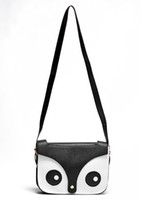 Wholesale Owl Retro Bag - Wholesale-Free Shipping 2013 New Womens Ladies Retro Shoulder Bag Fashion Handbags Cute School Tote Owl Fox PU Women Bags#5394