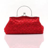 Wholesale Designer Wedding Shop - 2015 New Arrival Handbags Satin Beading Beaded Crystals Discou HandBags Designers Wedding No Risk Shopping Women Handbag Bridal Accessories