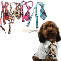 Atacado EA14-Dog Pet Cat Poodles peluche Bow bonito Gravata do laço Roupa bowknot