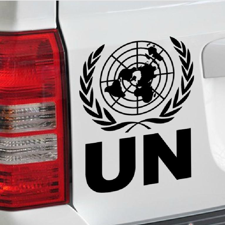 United Car Finance United Car Finance: Online Cheap Reflective Un The United Nations Logo Car