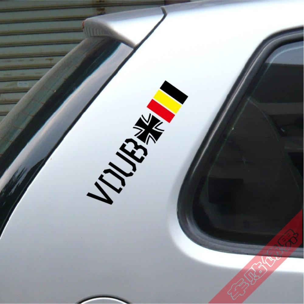 Vdub reflective tape car modification stickers jpg