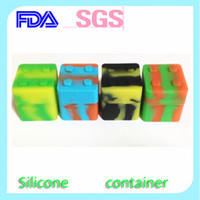 Wholesale 2014 Competitive price Silicone container for sticky wax jar