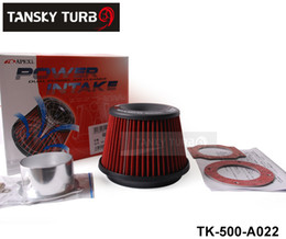 Wholesale Apexi Intake - Tansky - High Quality APEXI Power Intake Kit Universal  Air Filter Adapt Neck:76mm TK-500-A022 Have In Stock