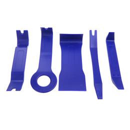 Wholesale Door Removal - Auto Car Repair Tools Kit Remove Repair Dash Radio Door Clip Panel Trim Removal Tool Set Kit Plastic 5pcs Tool Kit K1270