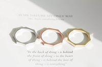 Wholesale Unique Stackable Rings - 10pcs lot Hot Sale Alloy Octagon Ring New stackable rings women's rings unique rings,JZ043