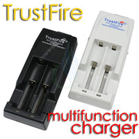 Wholesale Wholesale Trustfire Batteries - Trust fire charger trustfire TR-001 multi functional rechargeable charge for 18650 10430 14500 16340 17670 18500 li-ion battery protect