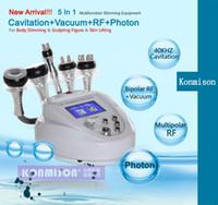Wholesale Lose Fat Machine - Latest Portable 5 In 1 Ultrasonic Liposuction Cavitation portable Slimming Machine Fast Fat Burning Lose Weight Fast Fat Burning Equipment