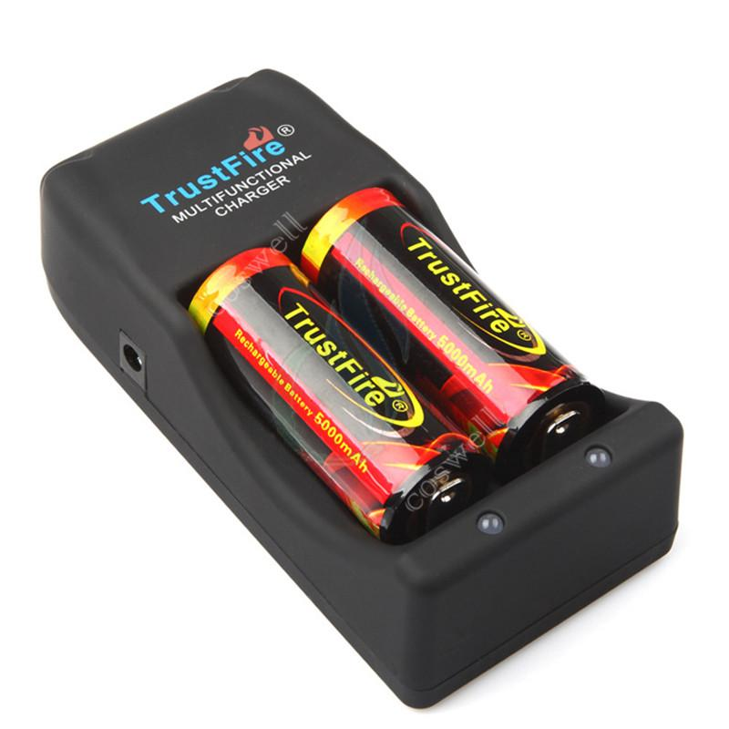 Trustfire charger Trust fire TR-006 multi functional rechargeable charge for mods 26650 25500 18650 14500 18500 16340 li-ion battery protect
