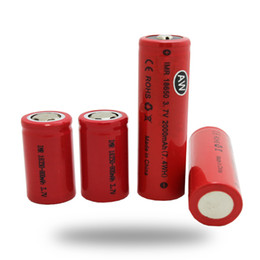 Wholesale Aw Free - Wholesale Fedex EXPRESS SHIPPING AW IMR 700mah 2000mah 10A Battery For Cigarette 18650 18350 Battery Fedex Free Ship