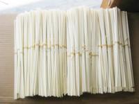 Wholesale Reed Wholesale - Wholesale-50PCS 3MM*24CM Premium Rattan Reed Diffuser Replacement Refill Rattan Sticks Aromatic SticksTop 50PCS 3MM*24CM