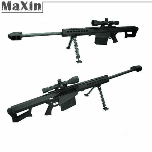 2018 3d Paper Model Guns Diy Paper Craft Barrett Sniper Rifle