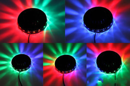 Wholesale Dj Sound Music Activated Led - Auto & Voice-activated Mini Led Laser Stage Lighting Light Lights Starry indoor music DISCO DJ Party Christmas gift New Arrival