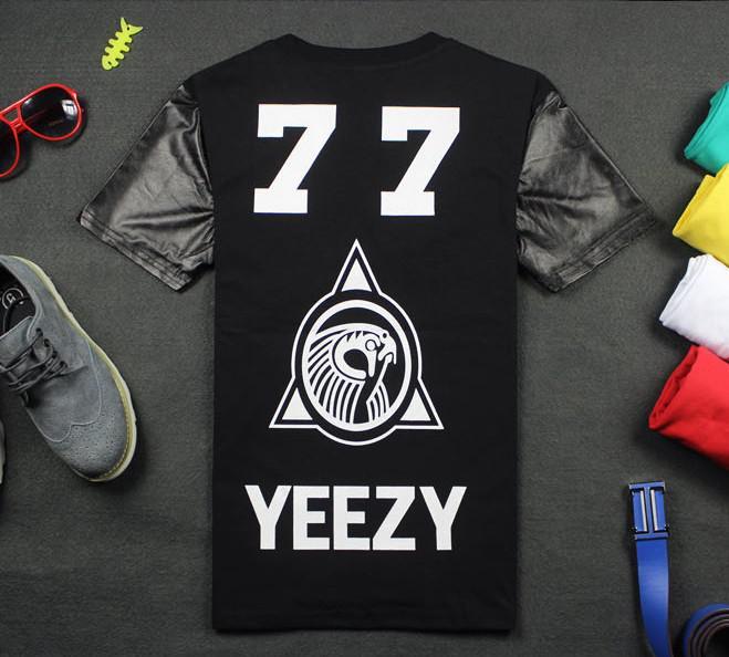 Pyrex T Shirt 77 Leather Fashion 2019 Short Yeezy Number Vision SqpUMVGz
