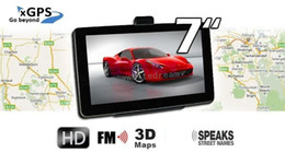 "Wholesale Navigation System Wireless - 2014 Newest HD 7"" Bluetooth AVIN Car GPS Navigation System+ Newest 8GB 3D Maps+2 Years Warranty+Wireless Reverse Camera+Free Gifts"